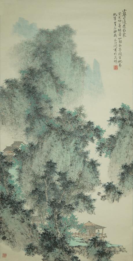 青岛山边写生钢笔画